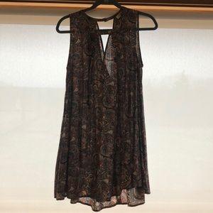 Umgee paisley dress size small